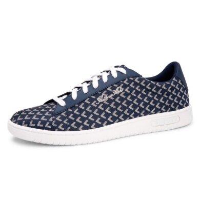 "Le Coq Sportif ""Arthur Ashe"" Jaquard blau Sneaker Herren"