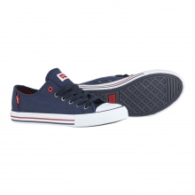 Levis Trucker Low Lace 2017 navy Sneaker Kinder