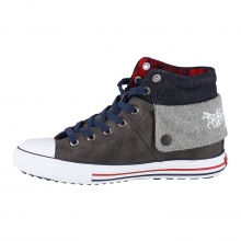 Levis Anchorage Mid dunkelgrau Sneaker Kids