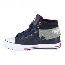Levis Anchorage Mid 2017 navy Sneaker Kids