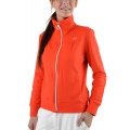 Limited Sports Sweatjacke Shoshun mandarinrot Damen