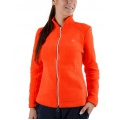 Limited Sports Jacket Fleece Flora mandarinrot Damen