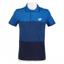 Lotto Tennis-Polo Tech Seamless (nahtlos) blau/navy Herren