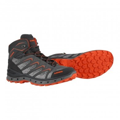 Lowa Aerox GTX MID 2017 graphit/orange Outdoorschuhe Herren