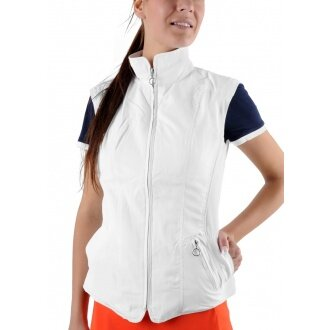 Limited Sports Weste Classic Basic weiss Damen
