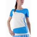 Limited Sports Shirt Vichy weiss/blau Damen