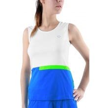 Limited Sports Tank Celine weiss/blau Damen