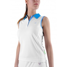 Limited Sports Tank Alba weiss/blau Damen