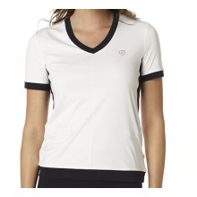 Limited Sports Shirt Carla weiss/navy Damen
