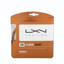 Luxilon Element ROUGH 1.30 bronze Tennissaite