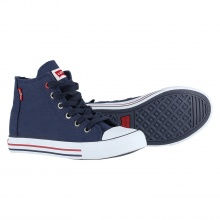 Levis Trucker High Canvas 2017 navy Sneaker Kids