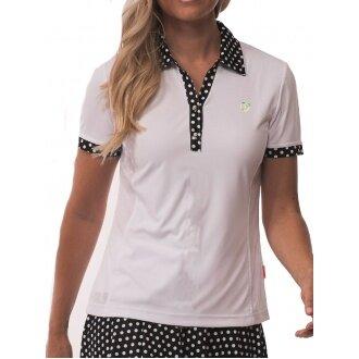 Limited Sports Polo Pearl weiss/schwarz Damen