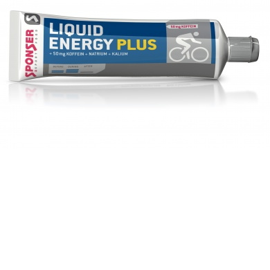 Sponser Energy Liquid PLUS Gel + Koffein Tube (20er Box)