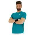Lotto Tennis-Tshirt Squadra mosaicblau Herren