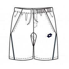 Lotto Short Broad weiss Boys