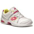 Lotto T-Tour III 600 weiss/pink Tennisschuhe Kinder