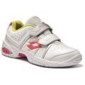 Lotto T-Tour III 600 Klett weiss/pink Tennisschuhe Kinder (Größe 33+34)