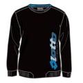 Lotto Sweatshirt Gilles schwarz/blau Herren