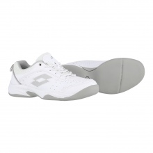 Lotto Court Logo VIII Carpet weiss/grau Indoor-Tennisschuhe Damen