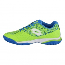 Lotto Viper Ultra 2017 lime/blau Tennisschuhe Kinder