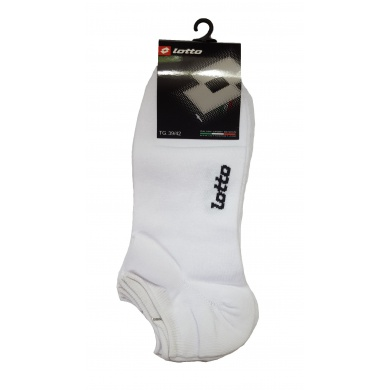 Lotto Tennissocken No Show kurz Herren weiss 3er