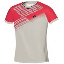 Lotto Tshirt Connor NET grau/rot Herren