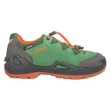 Lowa Diego GTX Lo 2017 grün/orange Outdoorschuhe Kinder