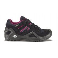 Lowa Simon GTX Lo navy/pink Outdoorschuhe Kinder
