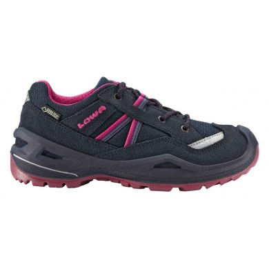 Lowa Simon II GTX Lo navy/berre Outdoorschuhe Girls