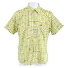 Maier Sports Kurzarmhemd grün/rot Herren