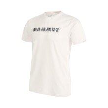 Mammut Tshirt Splide Logo 2020 weiss Herren