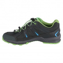 Mammut First Low GTX graphite/grün Outdoorschuhe Kinder