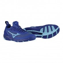 Mizuno Wave Luminous blau Indoorschuhe Herren