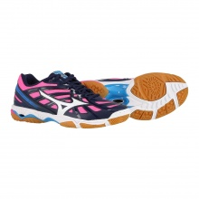 Mizuno Wave Hurricane 3 peacoat Indoorschuhe Damen