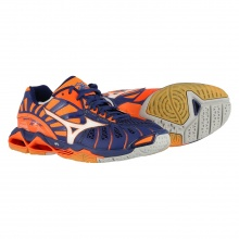 Mizuno Wave Tornado X 2017 orange/blau Volleyballschuhe Herren