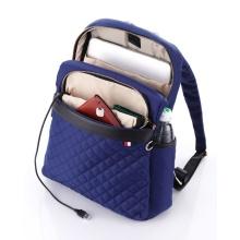 ModernistLook Rucksack Luxe Brilliance dunkelblau
