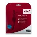 MSV Tennissaite Co Focus (Haltbarkeit+Kontrolle) hellblau 12m Set