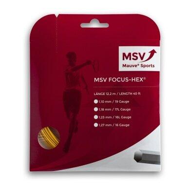 MSV Focus Hex gelb Tennissaite