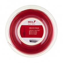 MSV Tennissaite Co Focus rot 200 Meter Rolle