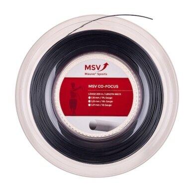 MSV Co Focus schwarz 200 Meter Rolle