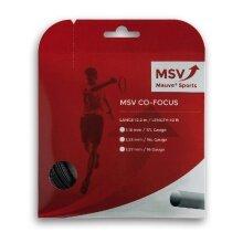 MSV Co Focus schwarz Tennissaite
