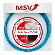 MSV Co Focus hellblau Tennissaite