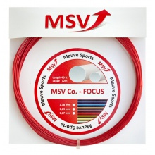 MSV Co Focus rot Tennissaite