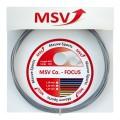 MSV Tennissaite Co Focus (Haltbarkeit+Kontrolle) silber 12m Set