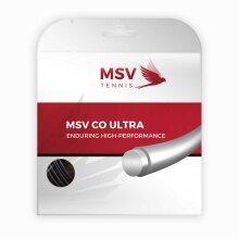 MSV Co Ultra schwarz Tennissaite