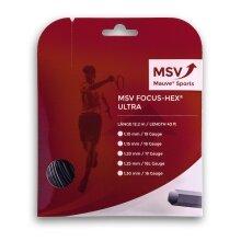 Besaitung mit MSV Focus Hex Ultra schwarz