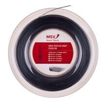 MSV Focus Hex Plus 38 schwarz 200 Meter Rolle