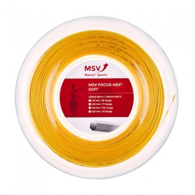 MSV Focus Hex Soft 1.20 gelb 200 Meter Rolle