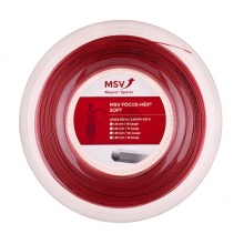 MSV Focus Hex Soft 1.25 rot 200 Meter Rolle