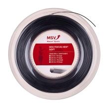 MSV Focus Hex Soft schwarz 200 Meter Rolle